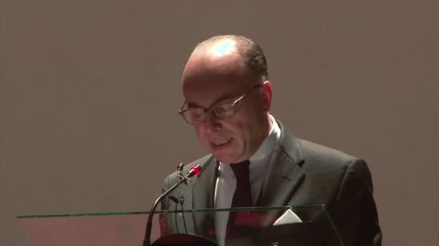 countries in the sahel region of africa decided on thursday they want to create a bloc to confront the threat of terrorism and migrant trafficking a... - bernard cazeneuve stock videos & royalty-free footage