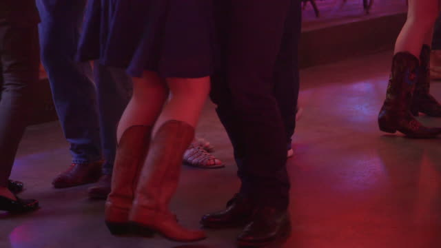 country dancing - country and western stock videos & royalty-free footage