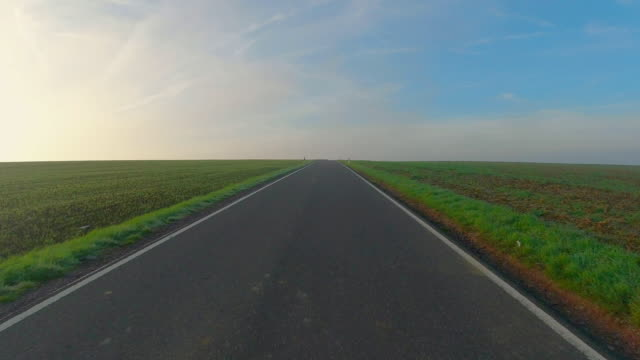 country road - horizon over land stock videos & royalty-free footage