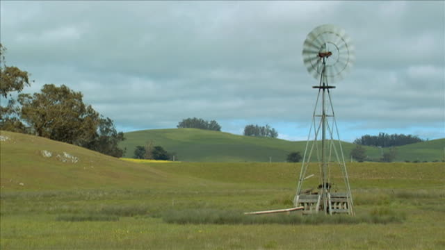 country windmill - other stock videos & royalty-free footage