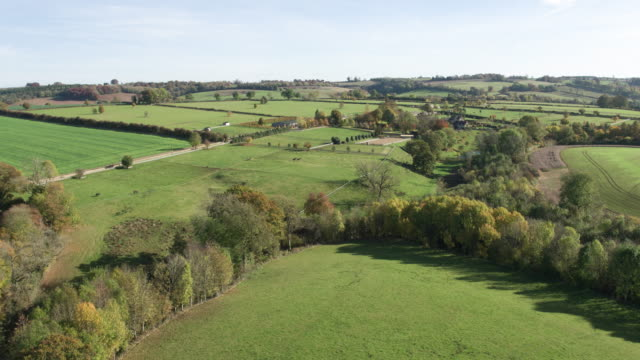 countryside aerial - drone pilot stock videos and b-roll footage