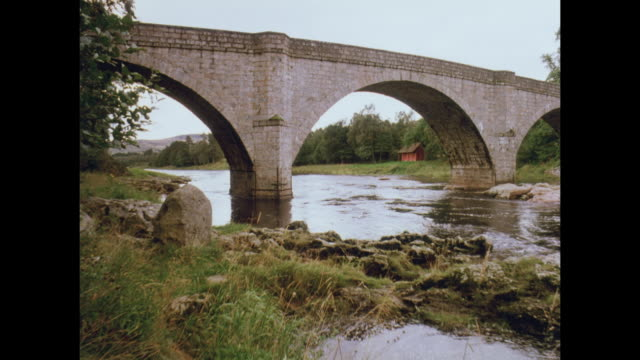 1981 countryside around aberdeen, scotland - aberdeen scotland stock videos & royalty-free footage