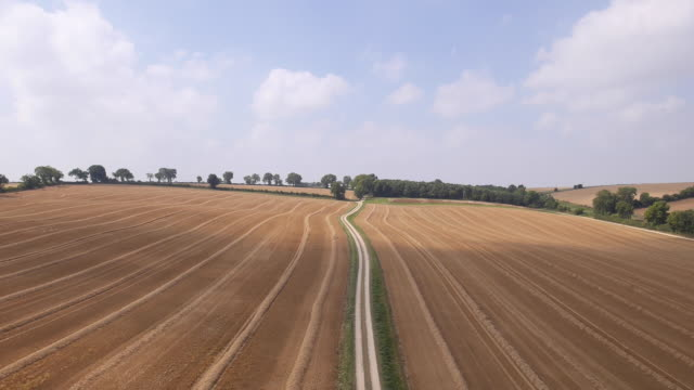 countryside bike ride - drone pilot stock videos and b-roll footage