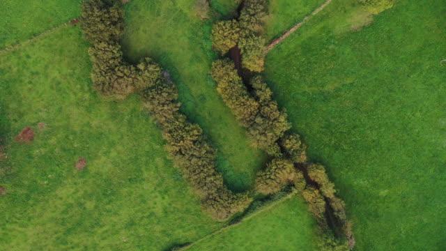 countryside landscape in la gándara, soba valley, valles pasiegos, cantabria, spain, europe - soba stock videos & royalty-free footage