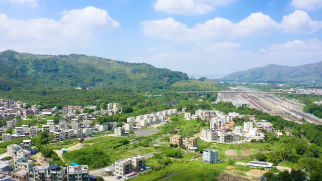 countryside mansion village in yuen long, hong kong - stately home stock videos & royalty-free footage