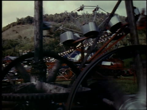stockvideo's en b-roll-footage met 1957 montage county fair / new york city, new york, united states - 1957