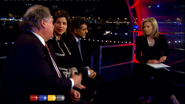 county hall ext at night county hall lit up red, blue and yellow mary nightingale live from county hall talking with james caan , kirstie allsopp and... - mary nightingale stock videos & royalty-free footage