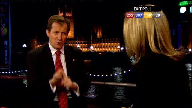 nightingale live from county hall alastair campbell interview sot - nightingale stock videos & royalty-free footage
