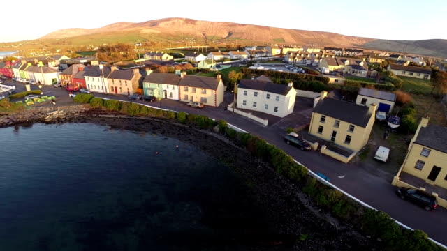 county kerry ireland aerial view - tourism stock videos & royalty-free footage