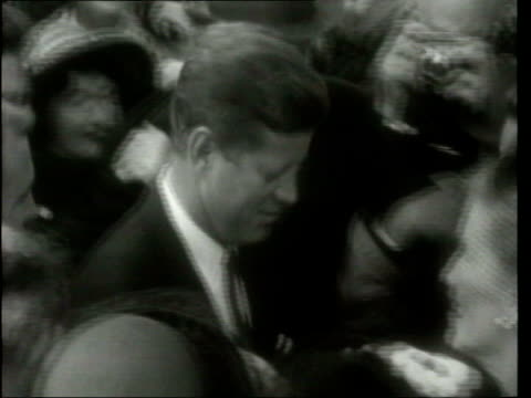 may in 1917 john f kennedy was born county wexford new ross ext b/w footage john f kennedy along through crowds during eire visit - john f. kennedy us president stock videos and b-roll footage