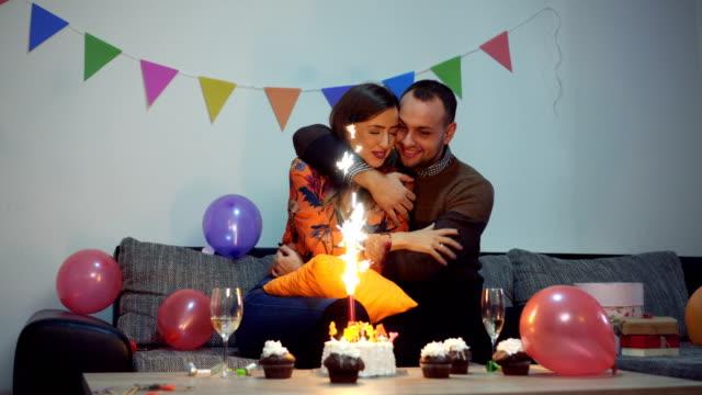 Couple celebrate birthday