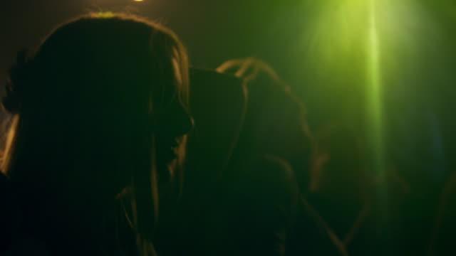 couple dancing in disco