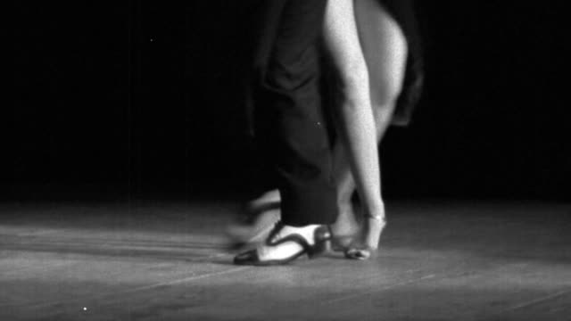 couple dancing tango - tango dance stock videos & royalty-free footage