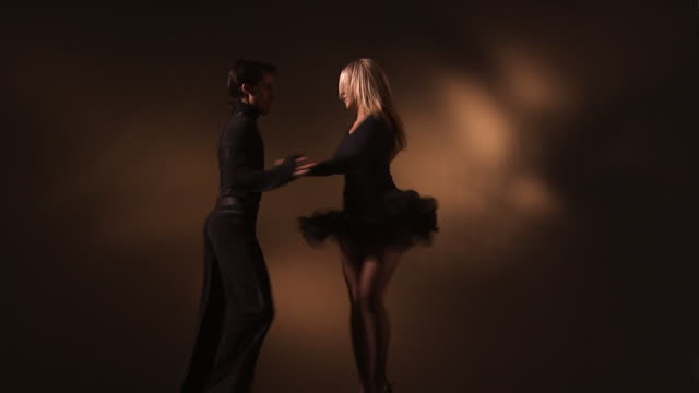 couple dancing - tangoing stock videos & royalty-free footage