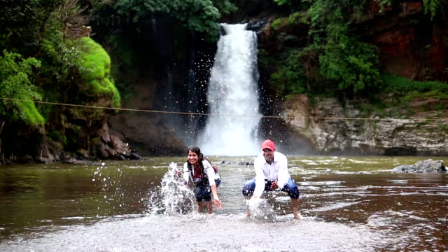 Couple enjoying summer vacations in Goa/India
