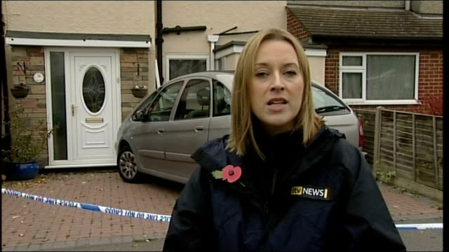 couple found dead in their home after suspected carbon monoxide poisoning police cordon tape across front door reporter to camera general view of... - carbon monoxide stock videos & royalty-free footage