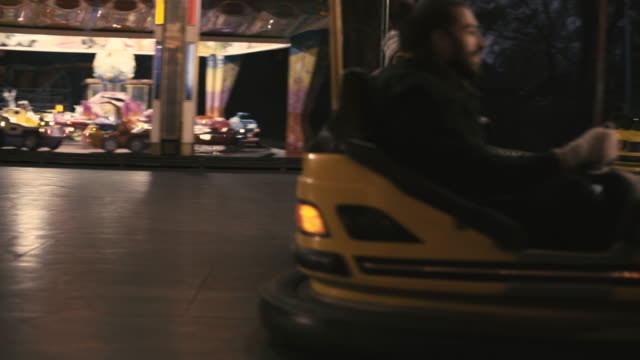 couple having fun in the city - bumper car stock videos & royalty-free footage
