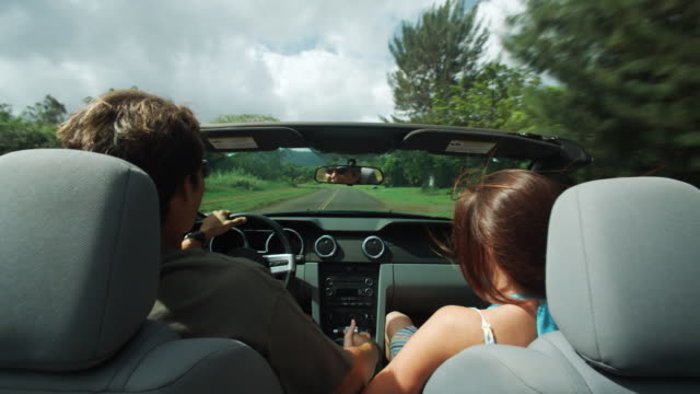 couple in a convertible - long stock videos & royalty-free footage