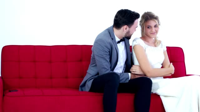 couple in bad mood, with relationship problem - forgiveness stock videos & royalty-free footage