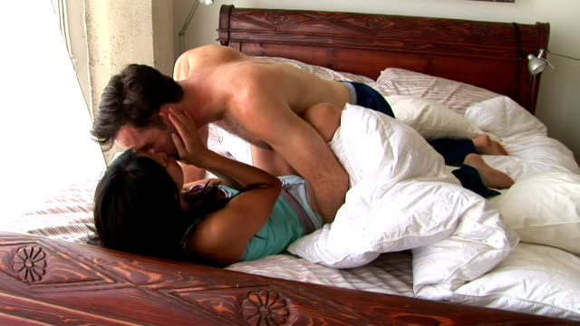 couple in bed - human copulation stock videos and b-roll footage