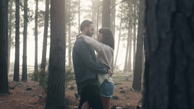 Couple in Forrest