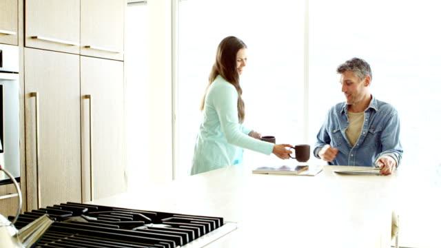 Paar in der modernen home