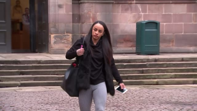 Couple involved in food poisoning scam given suspended jail sentences ENGLAND Derbyshire Derby Southern Derbyshire Magistrates' Court EXT Various of...