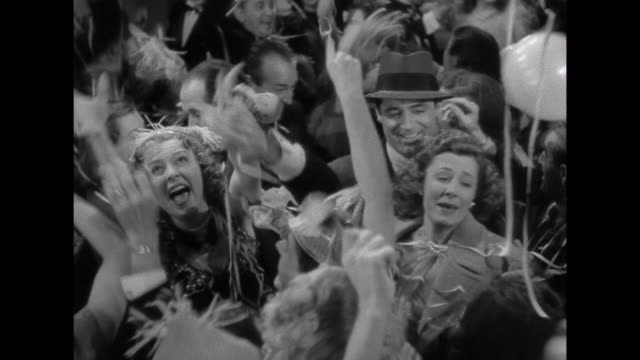 1941 A couple make their way through a New Year's Eve party (Cary Grant & Irene Dunne)