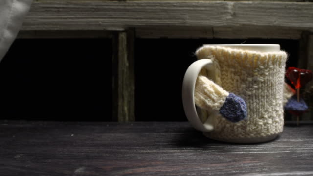 couple of mugs in sweaters - pair stock videos & royalty-free footage