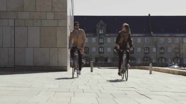 couple of tourist in copenhagen - copenhagen stock videos and b-roll footage