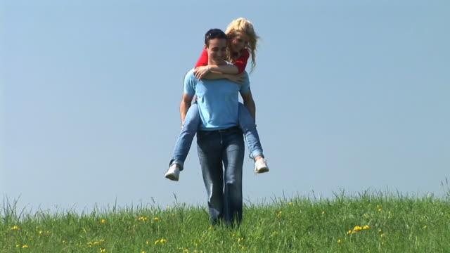 HD: Couple On A Meadow