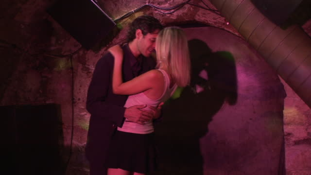 hd: couple on the dance floor - slow dancing stock videos and b-roll footage