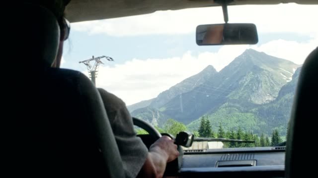 couple on the roadtrip - van vehicle stock videos and b-roll footage