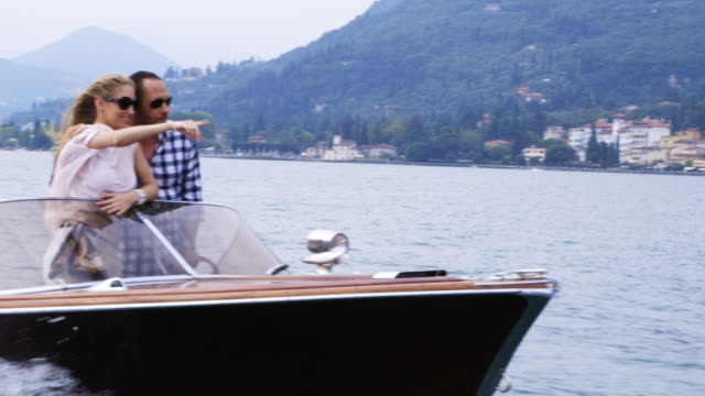 couple on yacht - pointing stock videos & royalty-free footage