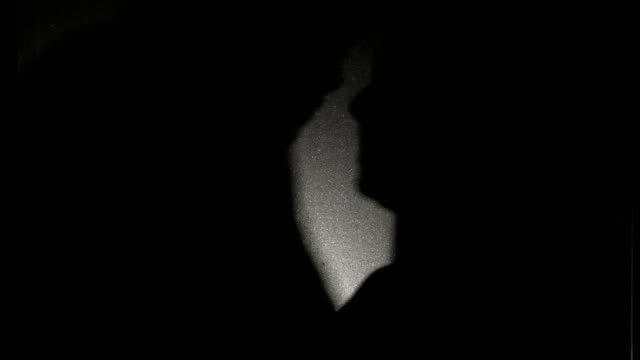 couple shadow tenderly kissing in silhouette - silhouette stock videos & royalty-free footage
