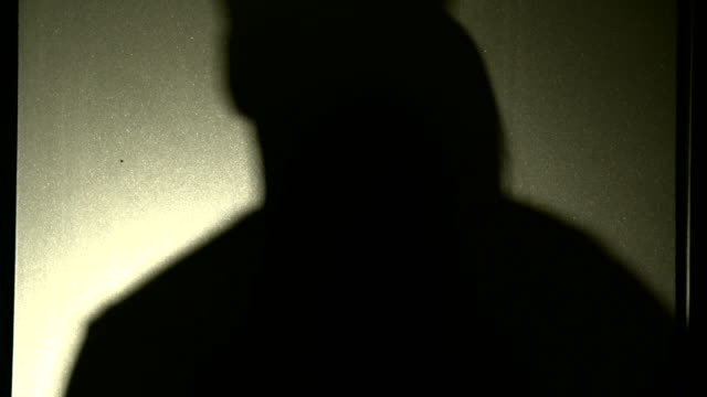 couple shadow tenderly kissing in silhouette - sex and reproduction stock videos & royalty-free footage