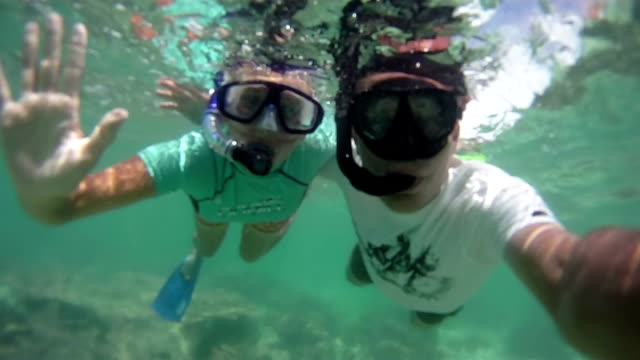 HD: Couple Snorkeling