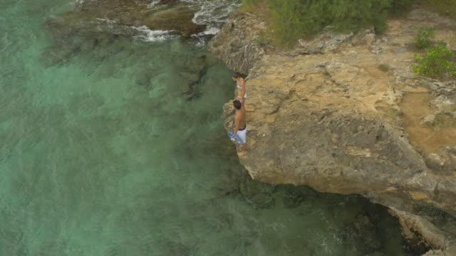 Couple Snorkelling in Warm Ocean