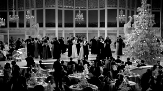 couples dancing and dining in a nightclub. - evening gown stock videos & royalty-free footage