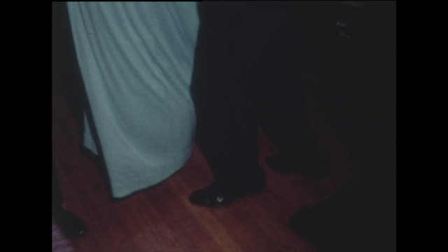couples dancing at a black tie party; washington d.c. 1970 - dress stock videos & royalty-free footage