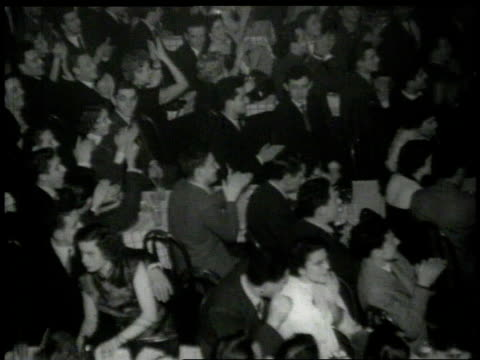 1926 montage couples dancing the lindy hop on stage - 1926 stock videos & royalty-free footage