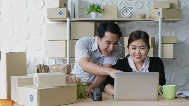 Couples selling products through online channels are happy with the higher results.