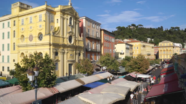 Cours Saleya, Nice, Côte d'Azur, France