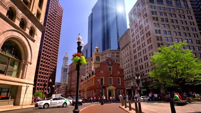Court and Washington street, Old State House
