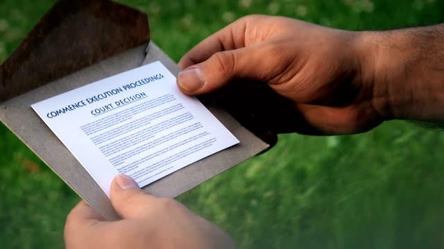 gerichtsentscheidung - bekommen stock-videos und b-roll-filmmaterial