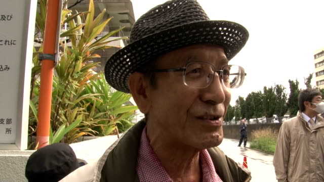 vídeos de stock, filmes e b-roll de a court hearing began wednesday on a lawsuit filed by the state seeking court approval to overrule okinawa gov takeshi onaga who has taken steps to... - lawsuit