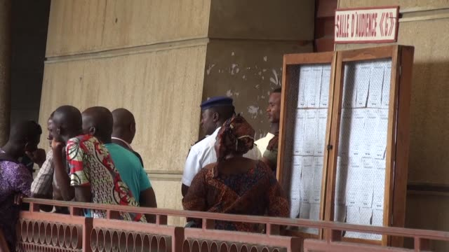 a court in benin jails seven local pharmaceutical executives for four years on charges of selling illicit medicines after a trial that breaks new... - benin stock videos and b-roll footage