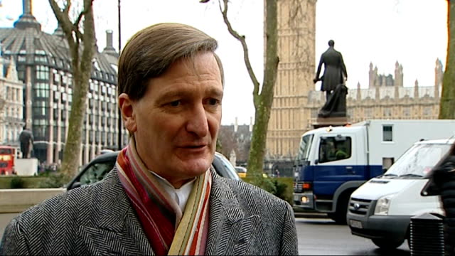 court of appeal rules 'whole life tariff' doesn't break european human rights laws; london: westminster: ext dominic grieve mp interview sot - 関税点の映像素材/bロール