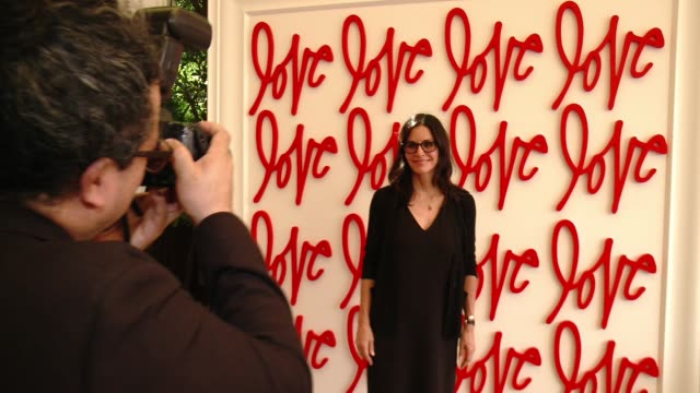 Courteney Cox at Revlon's Annual Philanthropic Luncheon in Los Angeles CA