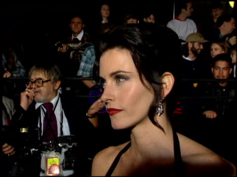Courteney Cox at the 1995 People's Choice Awards at Universal Studios in Universal City California on March 5 1995